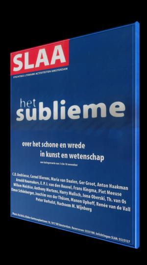 Poster SLAA Sublieme symposium